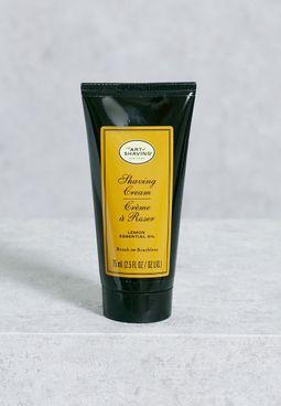 Shaving Cream - Lemon Essential Oil