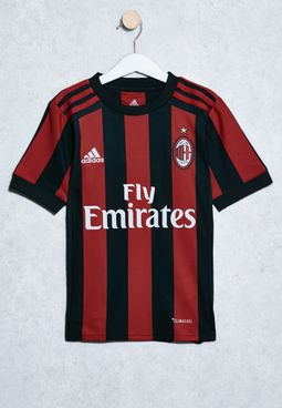 Youth AC Milan Home Jersey