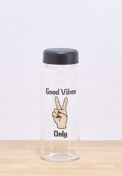 Good Vibes Only Water Bottle 450ml