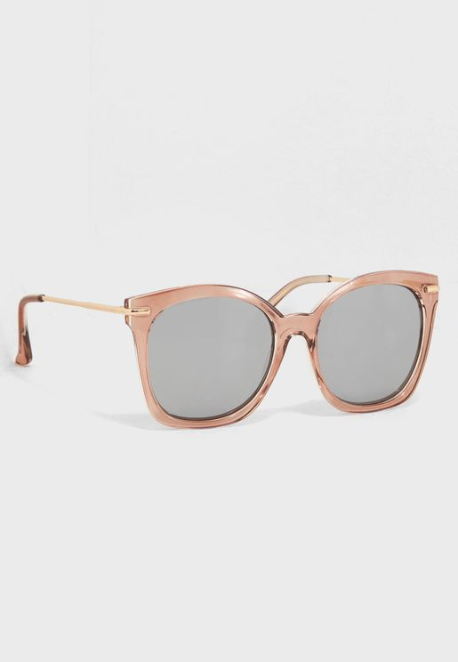 Crystal Top Bar Sunglasses