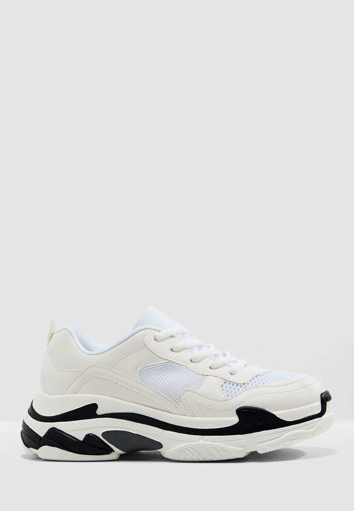 Chunky Sneaker With Contrast Sole