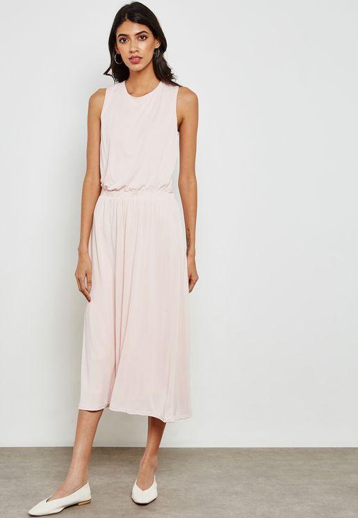 Essential Pleated Dress