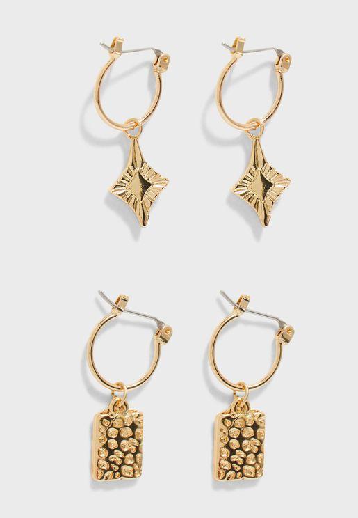 Nynna Earrings Set