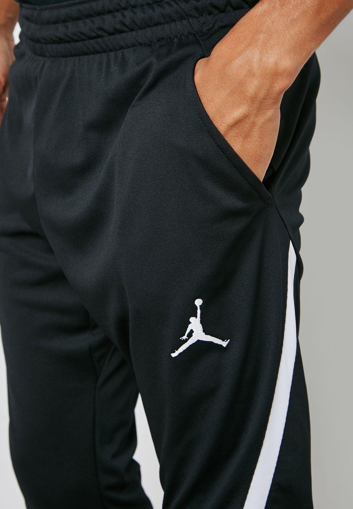 0bcfc0d4ffcae4 Shop Nike black Jordan Dri-FIT 23 Alpha Sweatpants 889711-014 for ...