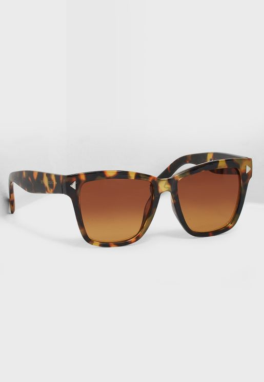 نظارة شمسية بنمط صدفة السلحفاة
