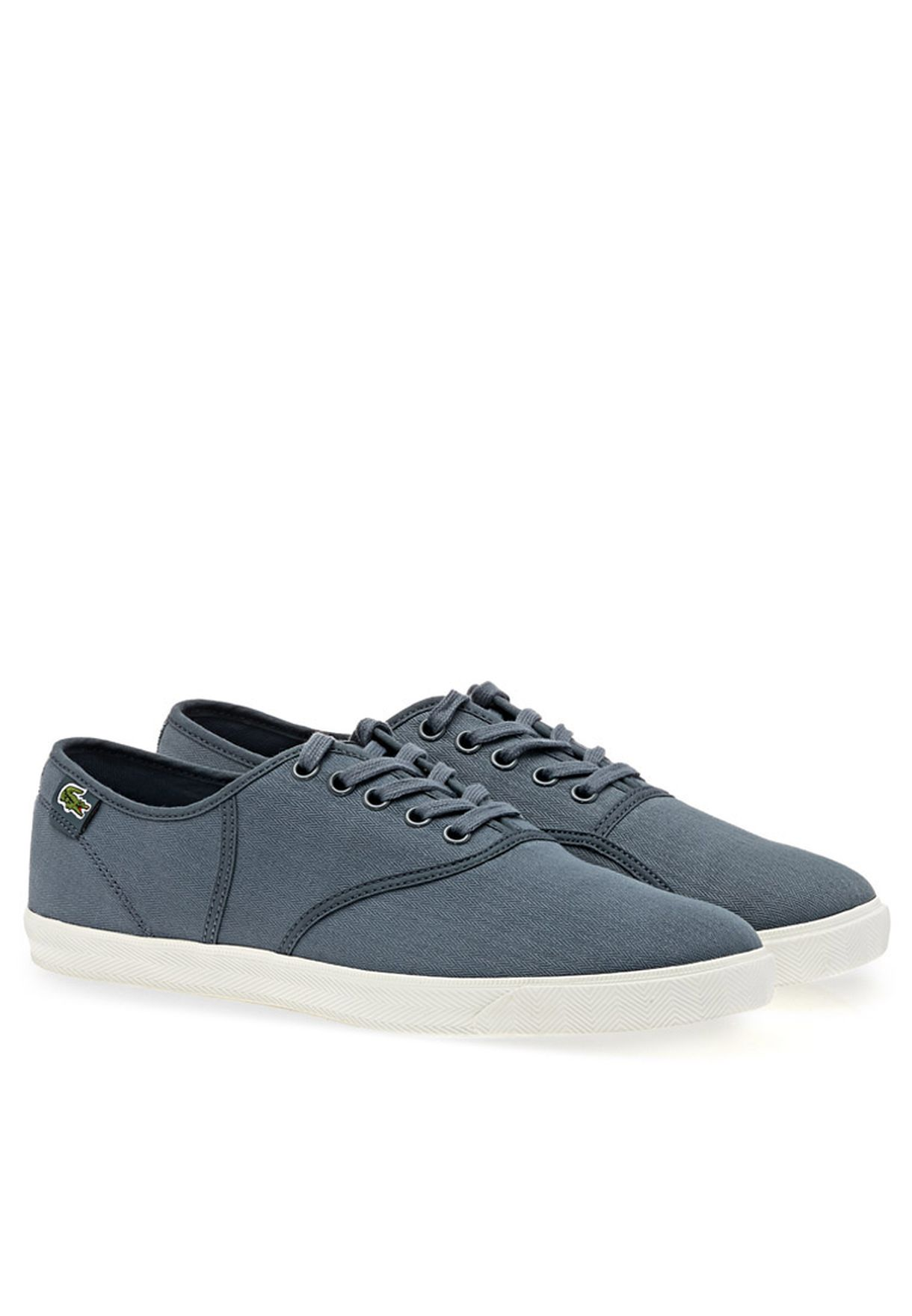 845883965c4398 Shop Lacoste grey RENE Low-top Sneakers RENE JULES for Men in Oman -  LA014SH30DXP
