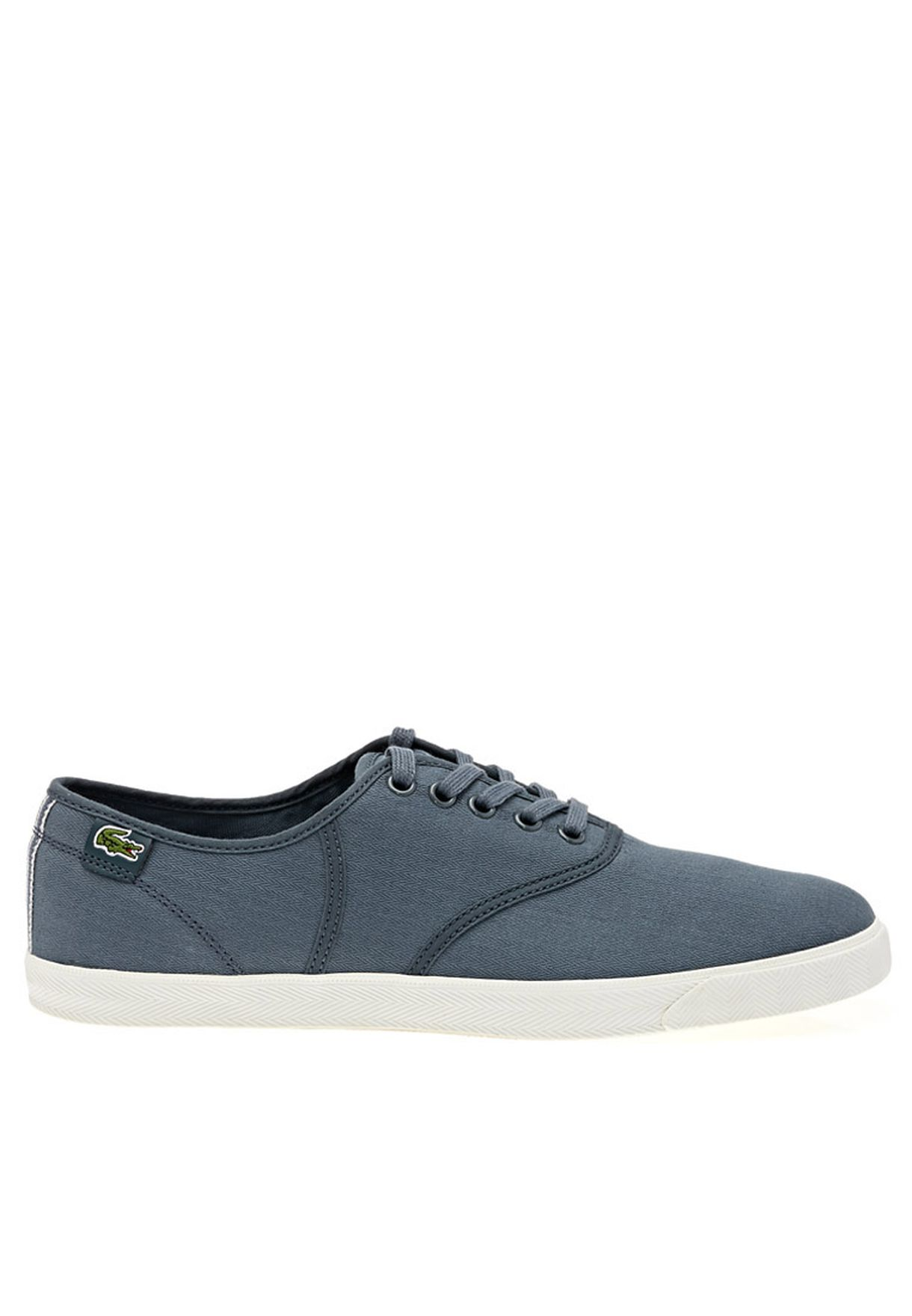 10cc7e9234a9b5 Shop Lacoste grey RENE Low-top Sneakers RENE JULES for Men in Oman ...