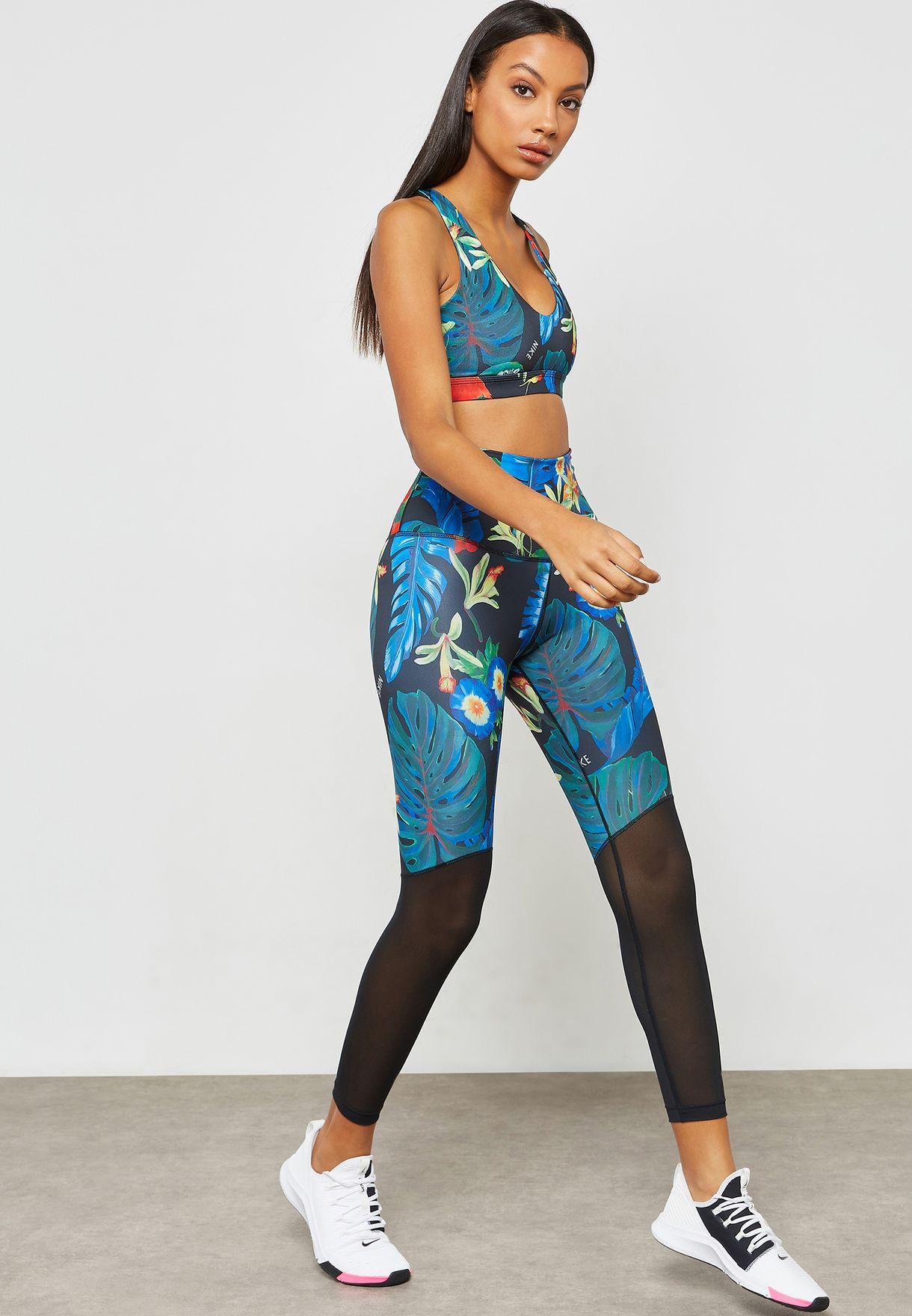 a16db13a71b2d Shop Nike prints Hyper Femme Power 7/8 Leggings AR0776-010 for Women ...