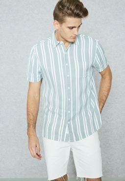Tunstall Striped Shirt