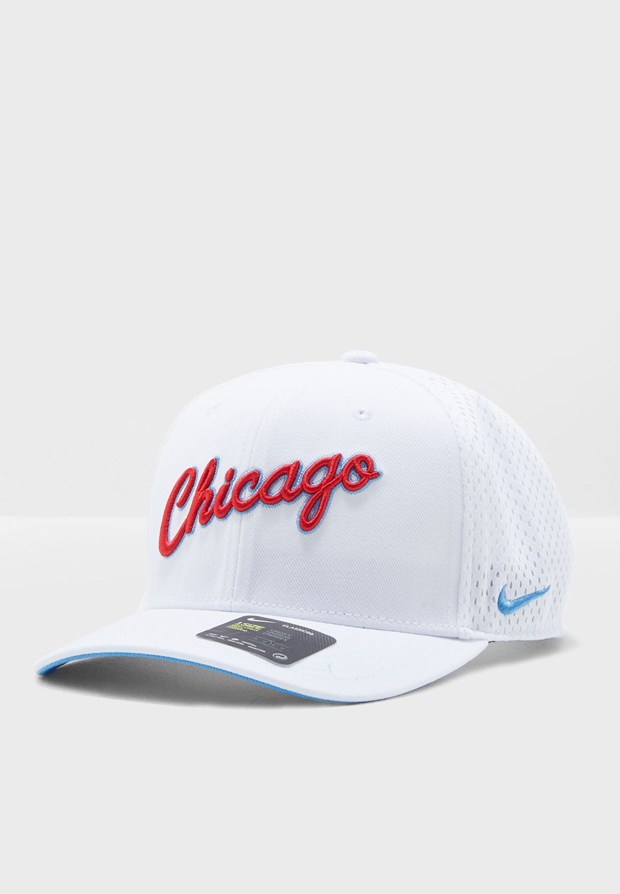 f18fdfacd8f Shop Nike white Chicago Bulls Classic 99 Cap 889378-100 for Men in ...