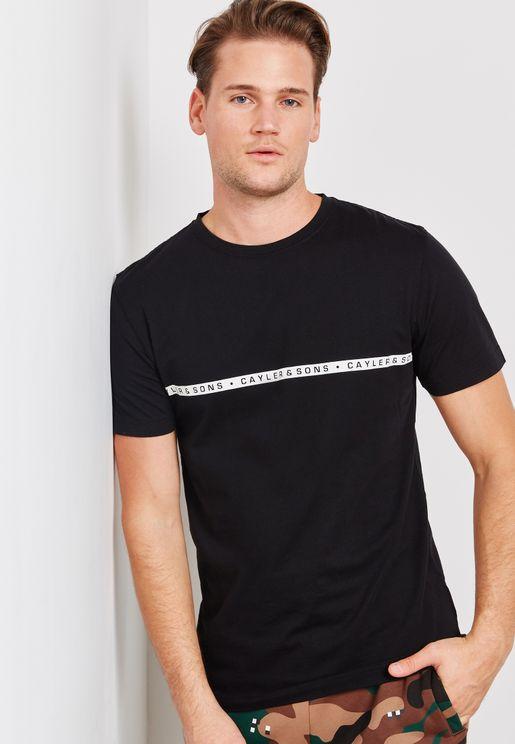 Bandanarama Crew Neck T-Shirt