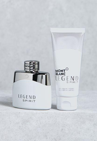 Legend Spirit 50ml EDT + Balm + Shower Gel Set