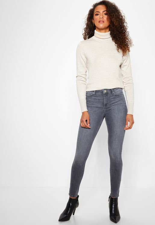 Lizzie Mid Rise Skinny Jeans