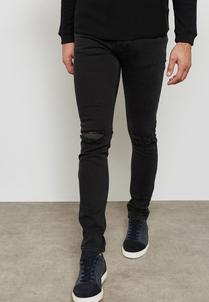 Washed Skinny Fit Jeans