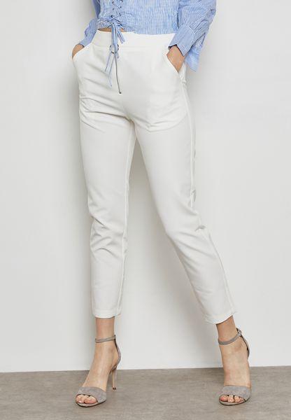 Zip Front Detail Pants
