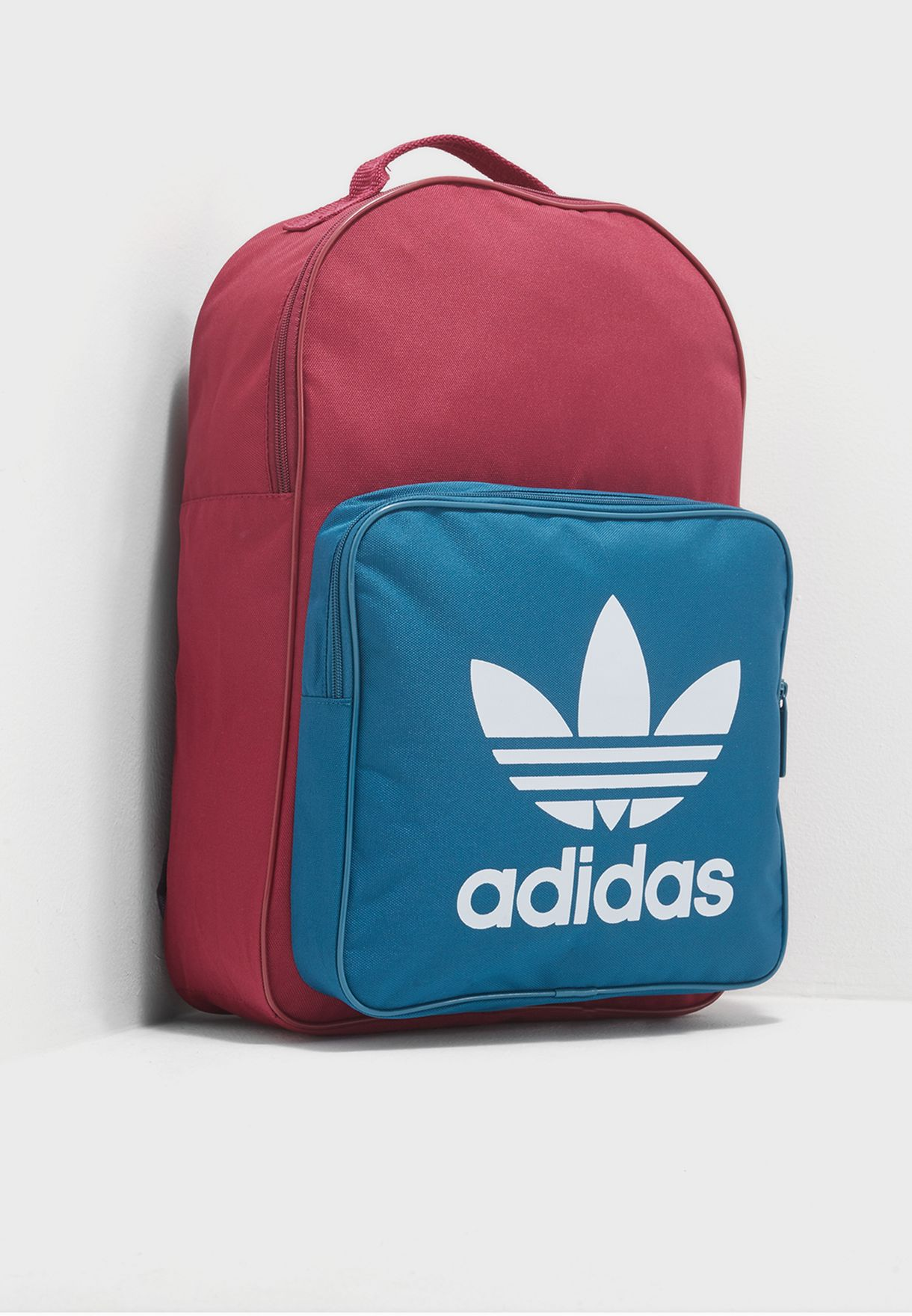 99193d88cfa96 Shop adidas Originals multicolor Classic Trefoil Backpack CD6065 for ...