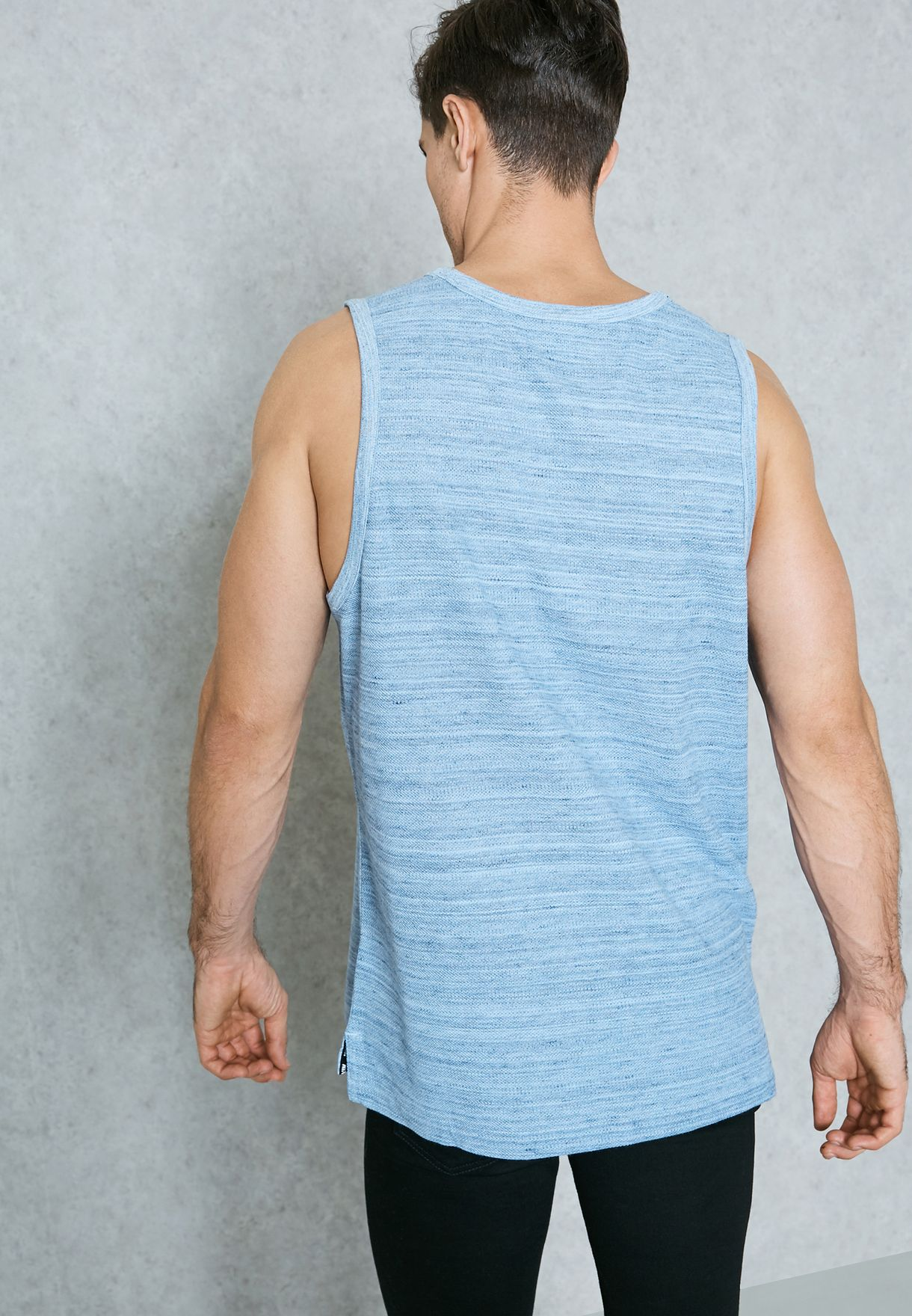 low priced ca5a7 f6145 Shop Nike blue AV15 Knit Vest 882153-450 for Men in UAE - NI727AT30ZGZ