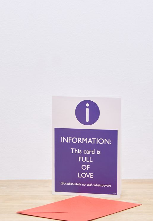 Full Of Love Greeting Card