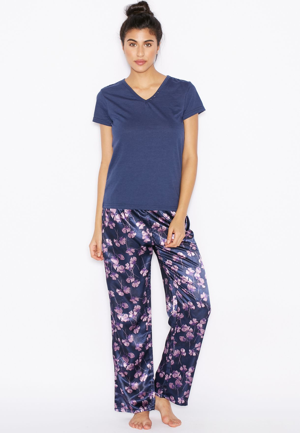 83772f88f9e00 Shop Outdoor navy Printed Pyjama Set for Women in Bahrain - OU616AT30HGV