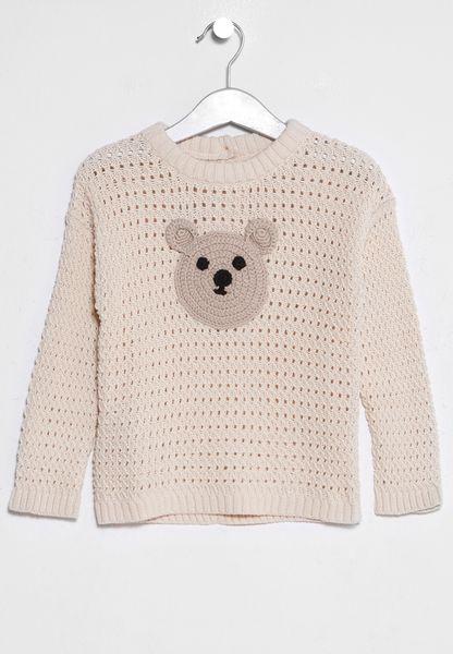 Infant Fauna Sweater