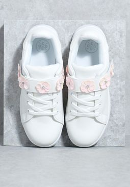 Floral Band Lace Ups