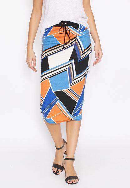 Printed Tube Skirt