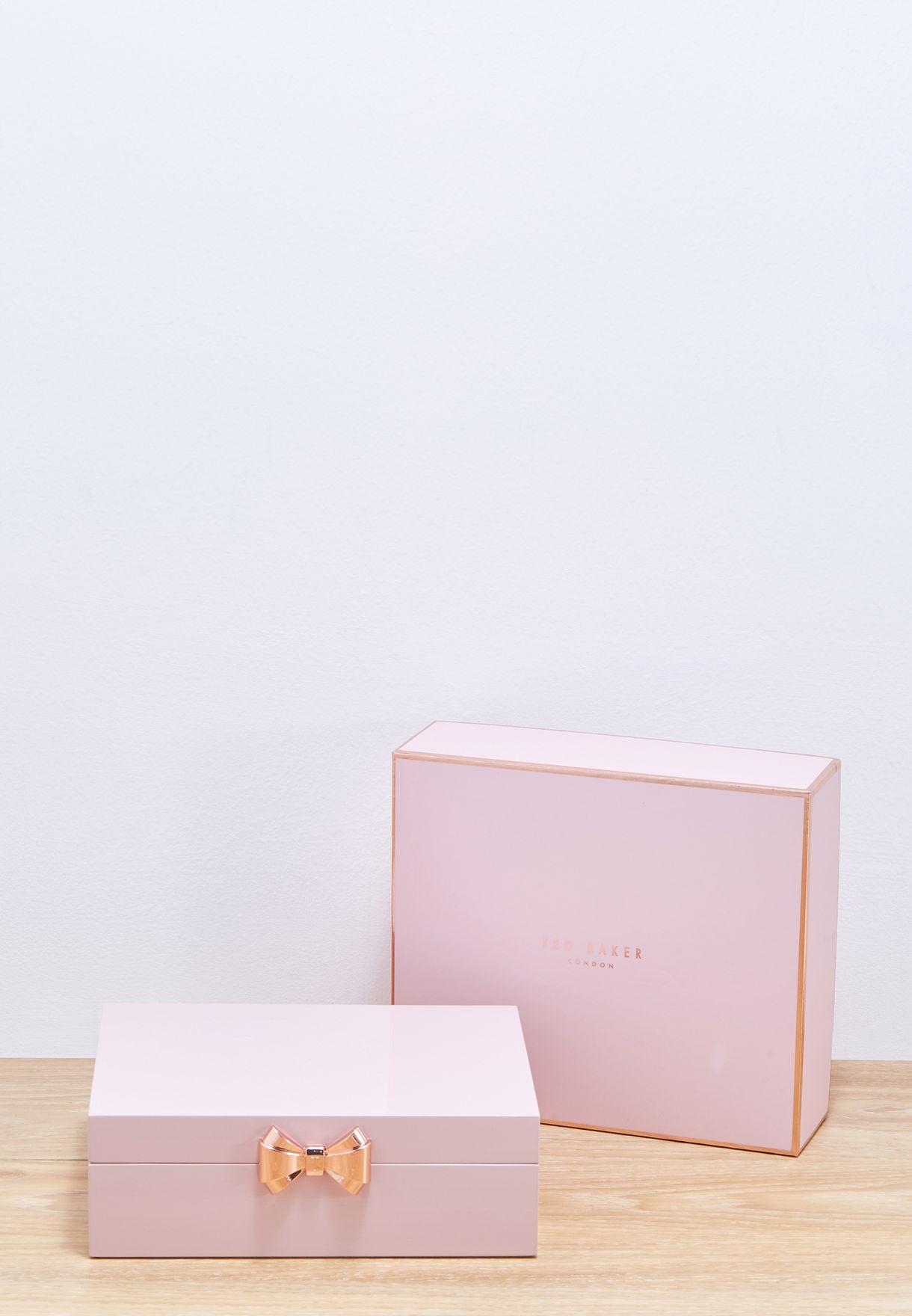 Medium Lacquer Jewellery Box