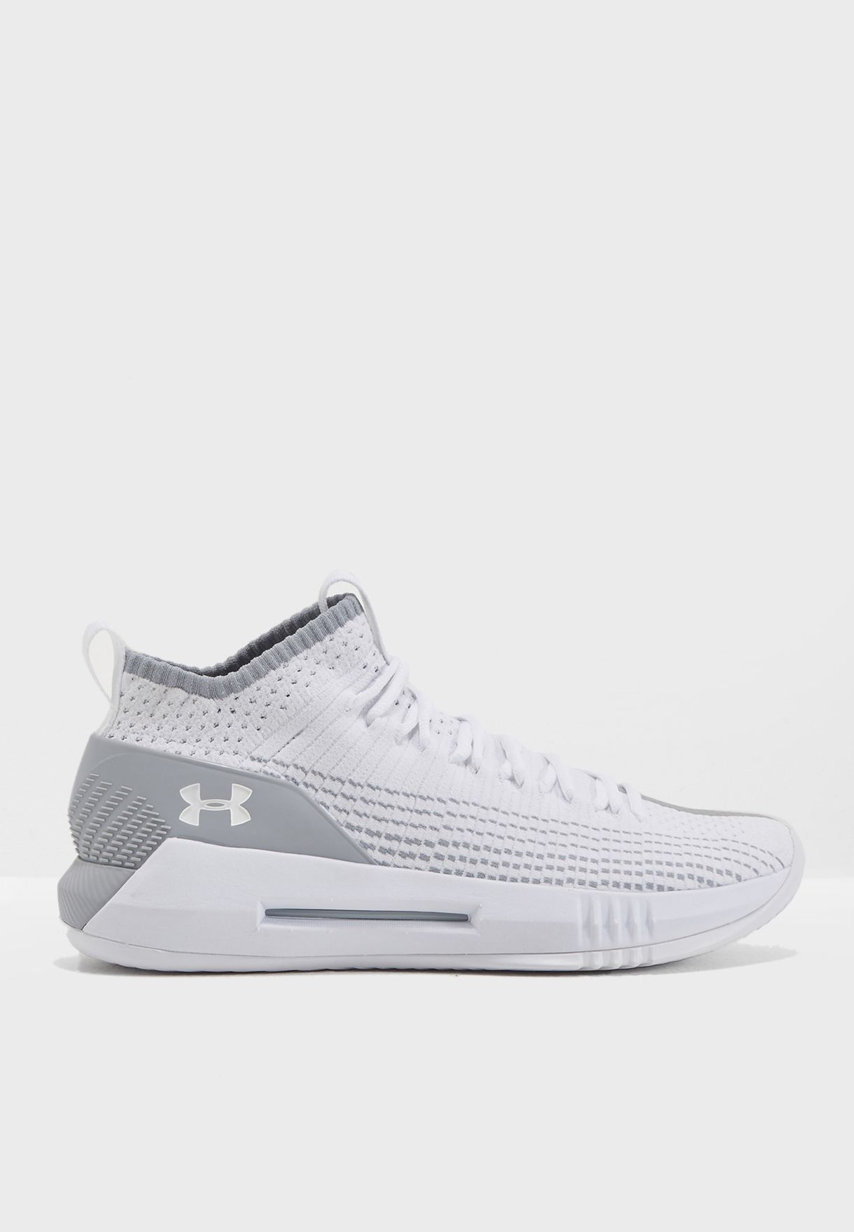Athletic Shoes Men's Shoes Under Armour Mens Heat Seeker Basketball Shoes Grey Sports Breathable