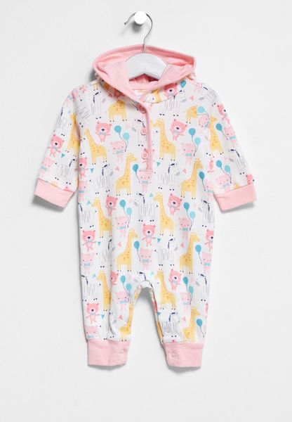 Infant Party Animals Onsie
