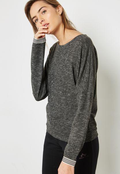 Varsity Detail Sweatshirt