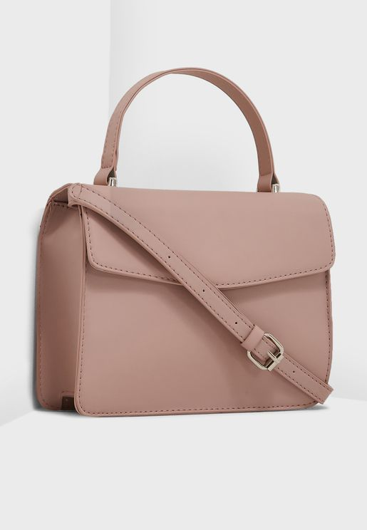 Long Top Handle Satchel