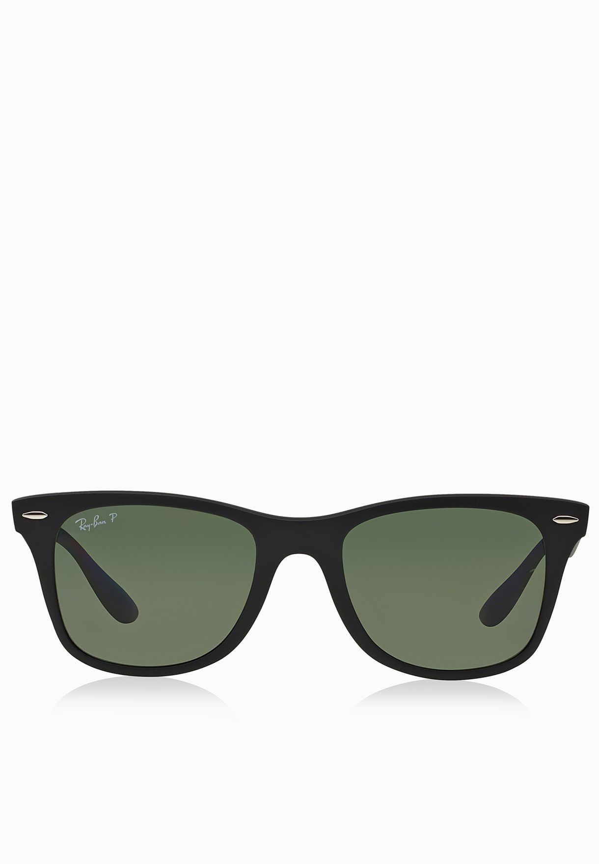 f5ed52741a2 Shop Ray-Ban black 0RB4195 Wayfarer Liteforce 8053672067118 for Men in  Qatar - RA736AC20LRR
