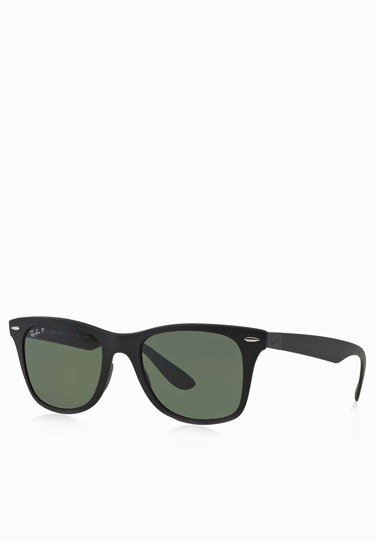 f4b39f63bd0 Shop Ray-Ban black 0RB4195 Wayfarer Liteforce 8053672067118 for Men ...