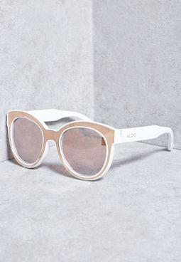 نظارة شمسية بلونين
