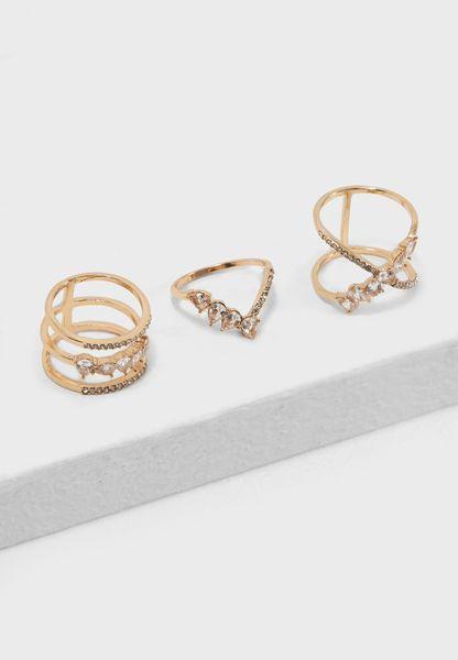 Tetonia Rings