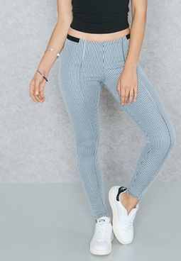 Dogstooth Pintuck Pants