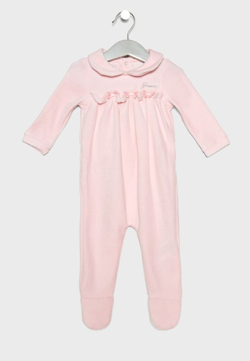 Infant Velour Romper
