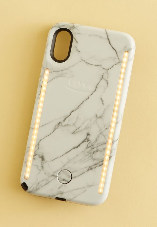 DUO iPhone X - White Marble 2