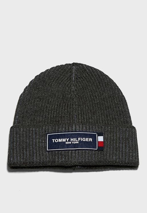 Tommy Patch Beanie
