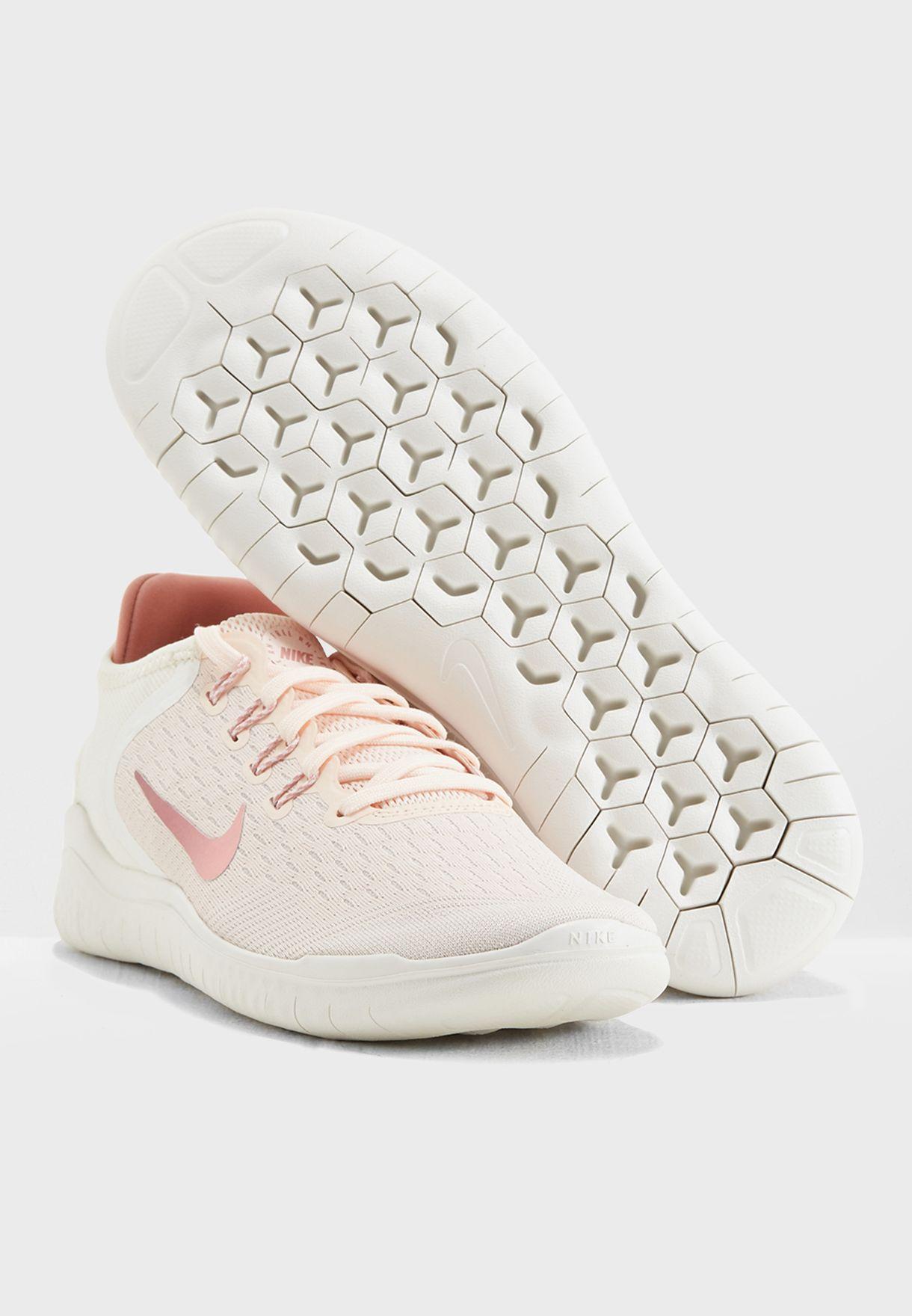 d3662a8f4ec41 Shop Nike pink Free RN 2018 942837-802 for Women in Saudi - NI727SH20QMD