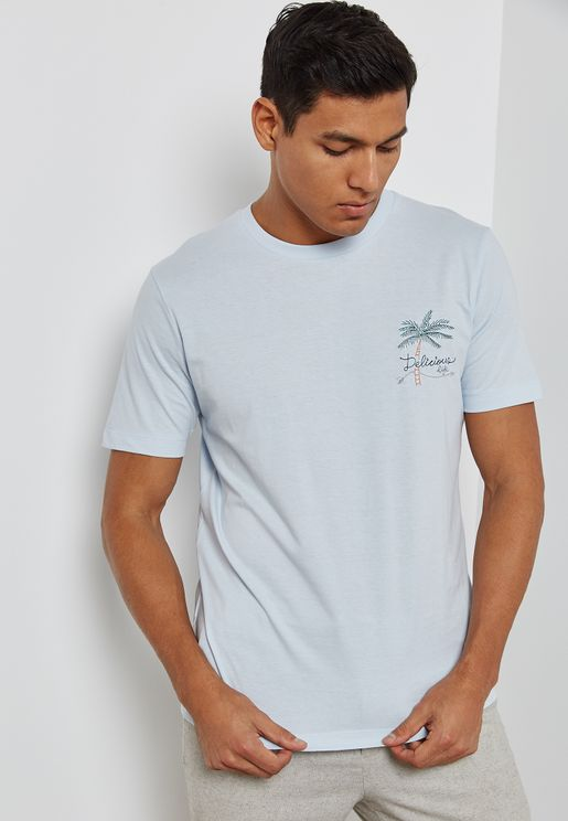 Embroidered Applique T-Shirt