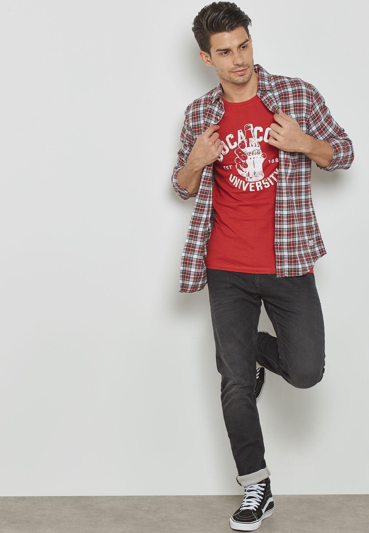 Coca Cola Print T-Shirt