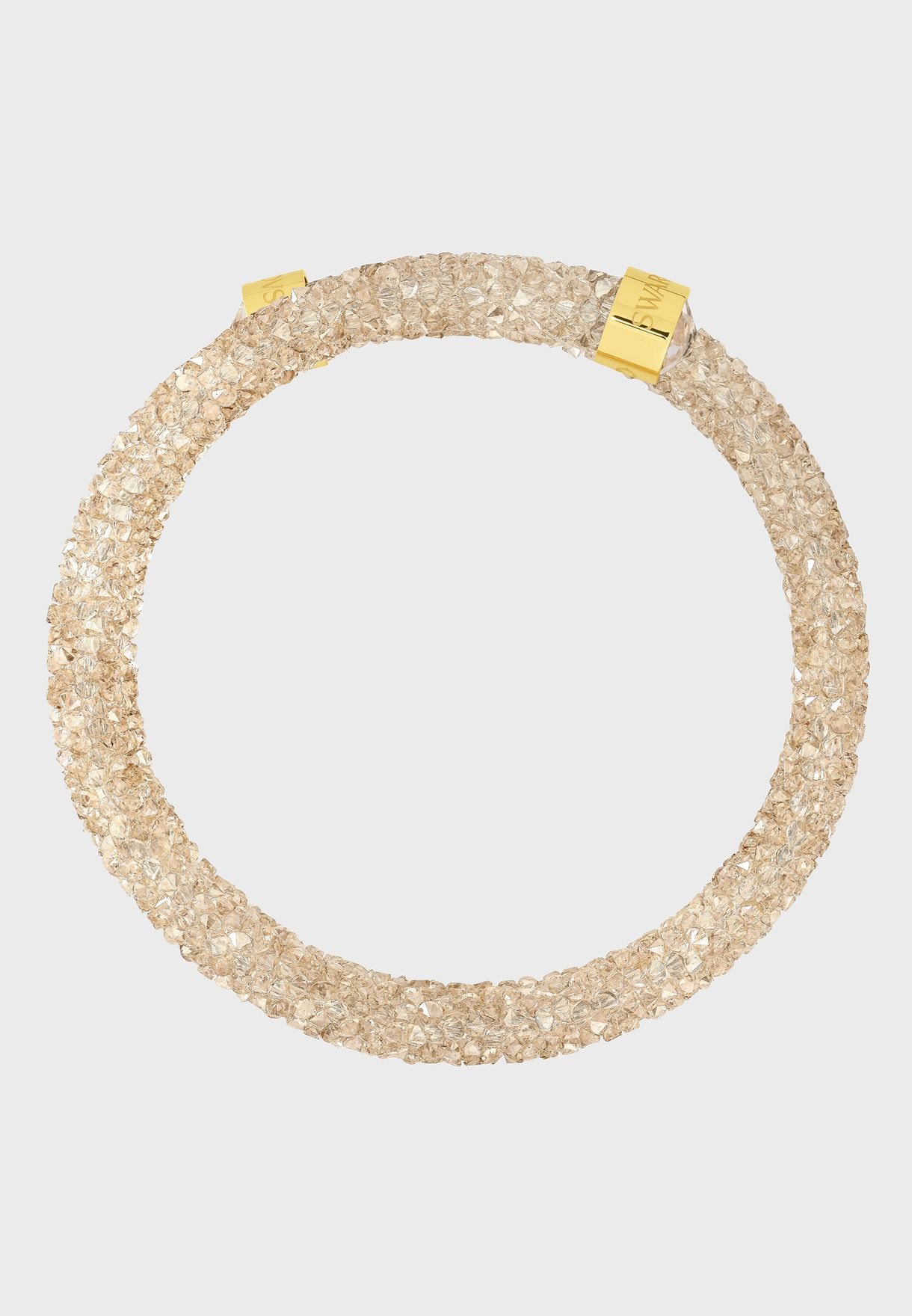 efadeb5a2 Shop Swarovski gold Crystaldust Double Bangle 5237763/5255907 for ...