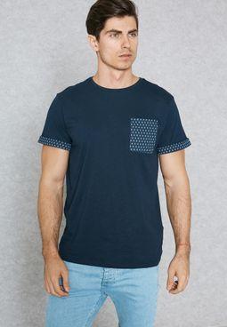 Printed Pocket T-Shirt