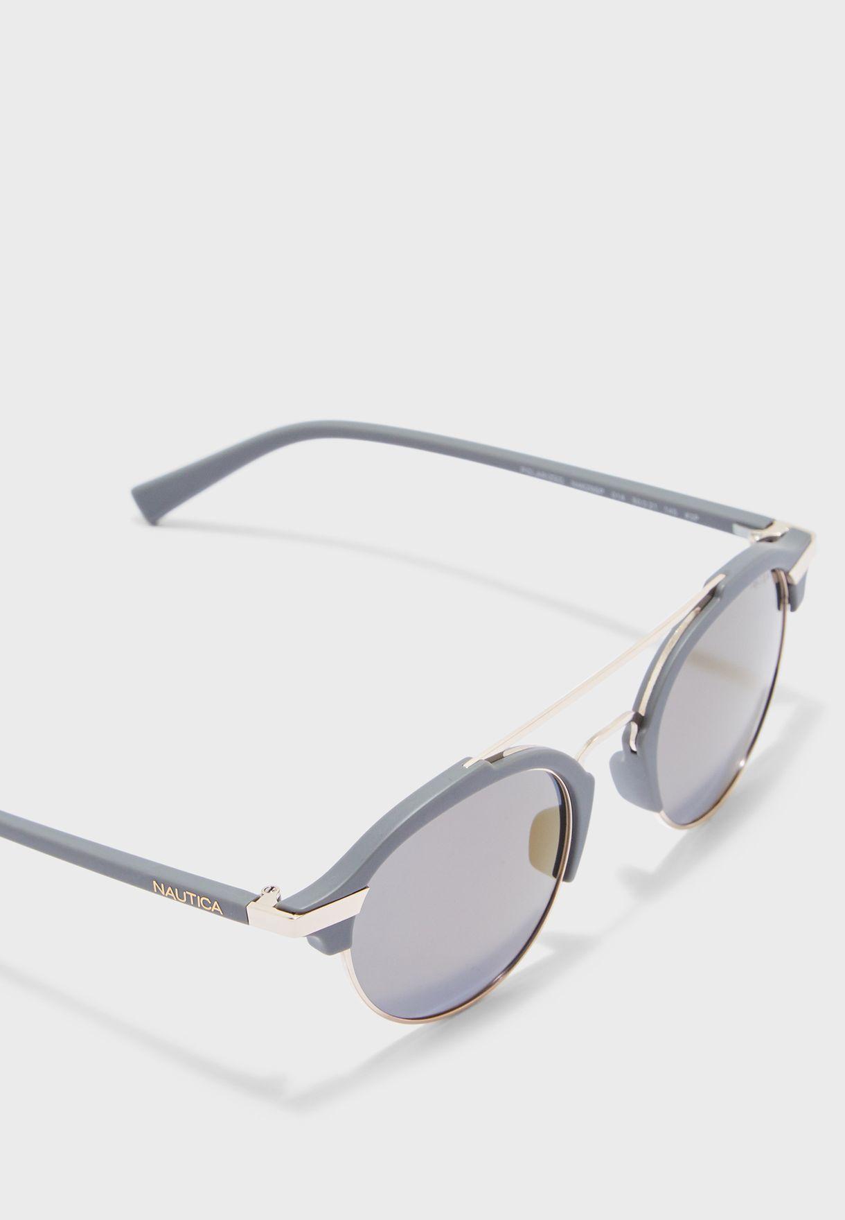 N4629SP Round Sunglasses