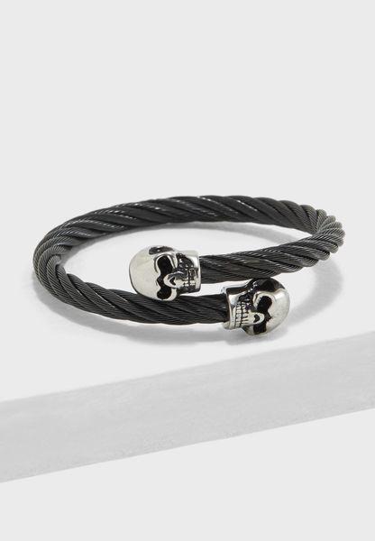 Twisted Skull Bracelet