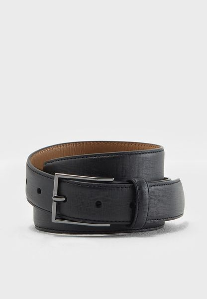 Saffiano Embossed Belt