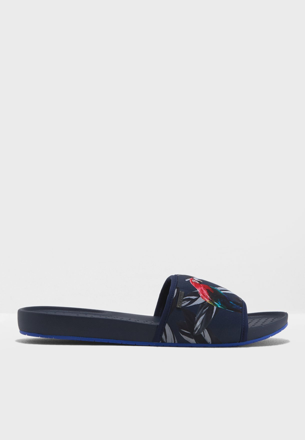 c636d779a Shop Ted baker blue Sauldi 2 Flipflops 917370 for Men in UAE ...