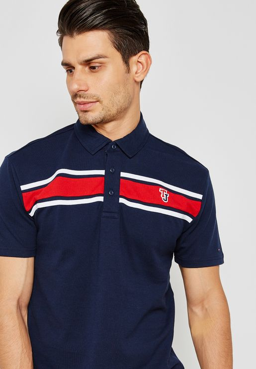 Tommy Jeans Striped Polo