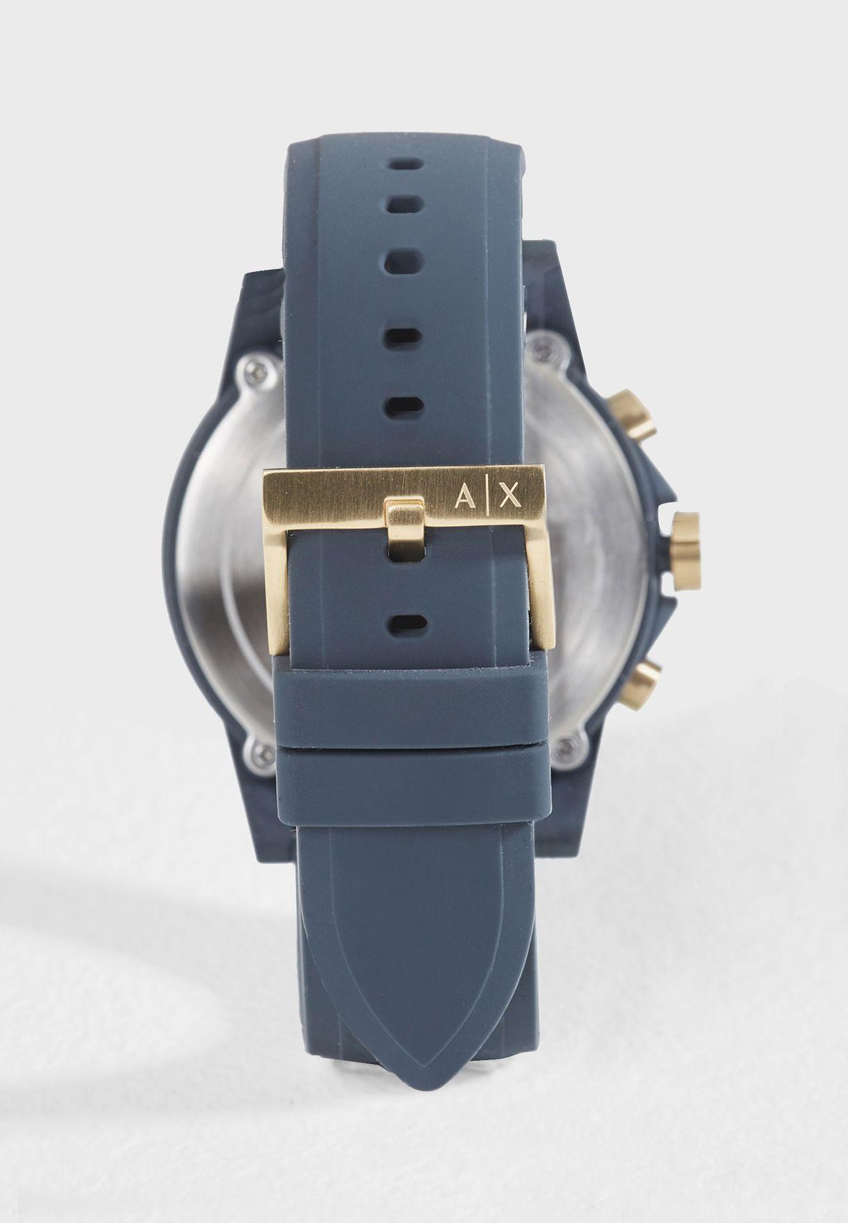 ساعة جلد AX1335